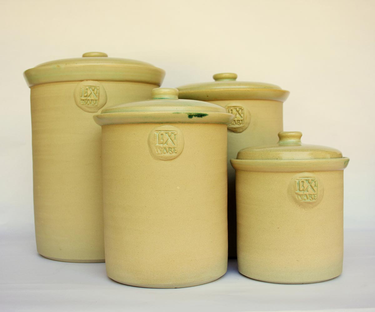 Fermentation Crock Set Plain Finish