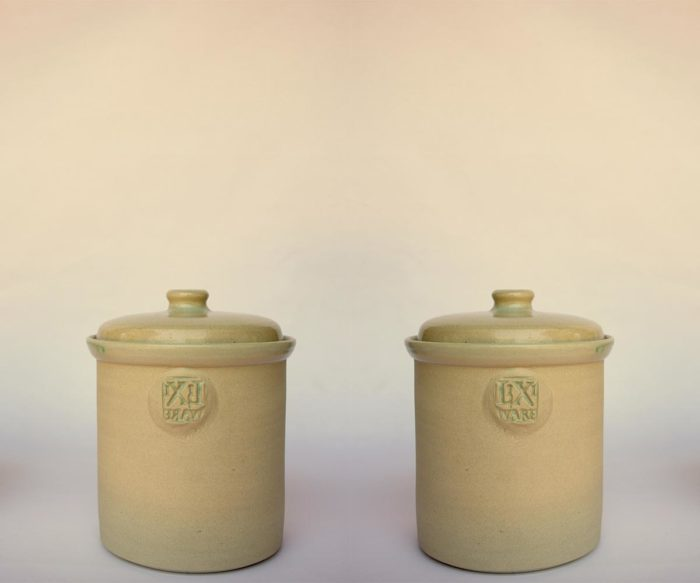 500ML Fermentation Crock Pot Plain Finish